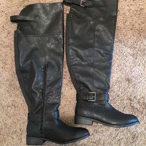 Torrid Tall thigh High Black boots *NEW*